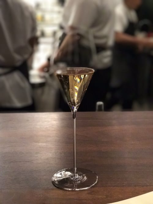 Tableware by Zalto at Momofuku Ko, New York - Stemware