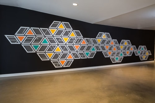 Art Curation by NINE dot ARTS at Nichols Partnership, Denver - Art Curation
