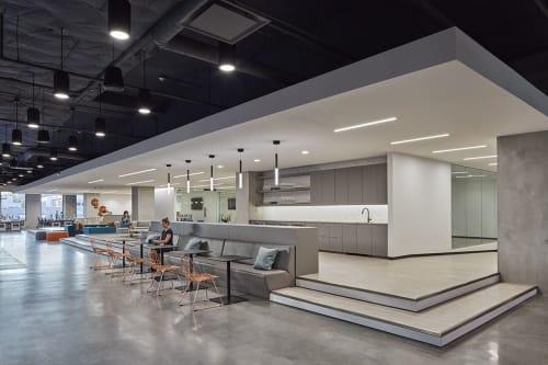 Interior Design by Corey Grosser of Cory Grosser + Associates seen at SupplyFrame, Inc., Pasadena - SupplyFrame