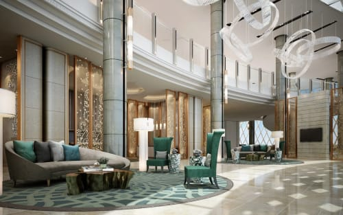 JW Marriott, Kolkata, India, Hotels, Interior Design