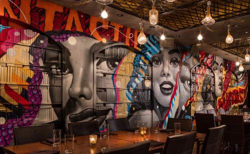 Murals by Tristan Eaton seen at Vandal, New York - Fantastic Fantasy