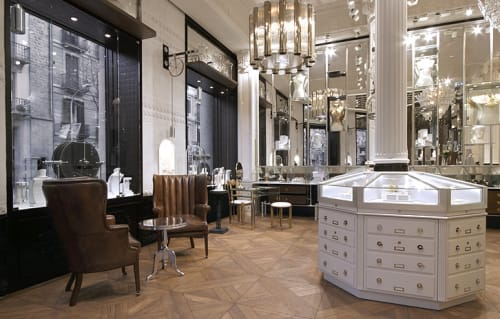Interior Design by G4 Group at Aristocrazy, Barcelona - Architectural Design