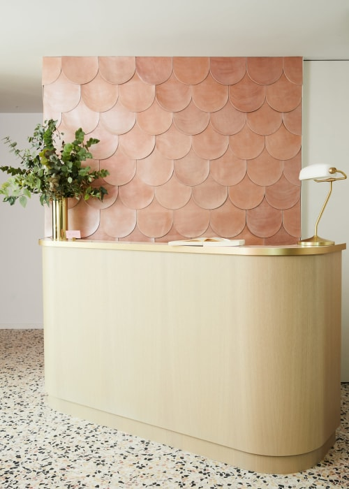 Tiles by concrete collaborative seen at This is Maison, New York - Mixed Chip Terrazzo Floor Tile