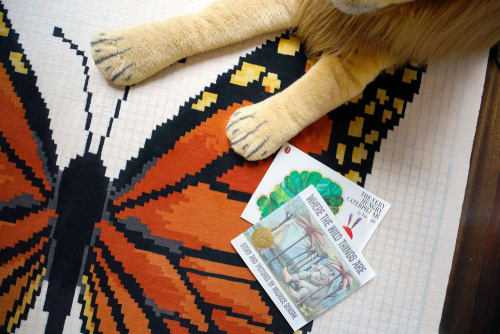 Rugs by Lucy Tupu Studio - Butterfly - Rug