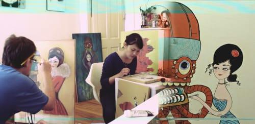 Alice Koswara - Murals and Art