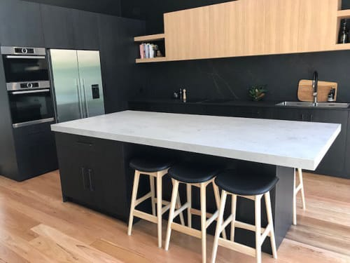 Interior Design by schemes & spaces seen at Private Residence, Sydney - Marrickville Kitchen & Bathroom