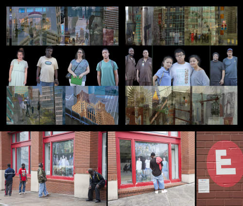 Murals by Counterpoint Studio, LLC seen at Atlanta Mayor's Office, Atlanta - Downtown Atlanta