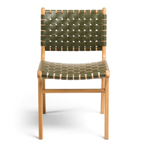 Chairs by Barnaby Lane seen at Private Residence, Melbourne - Tanner Dining Chair Oak - Olive