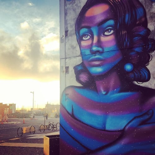 Street Murals by Carly Ealey seen at 1875 29th St, Denver, CO, Denver - Waves of Emotion