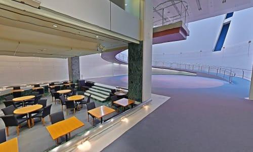 Spiral Garden, Art Galleries, Interior Design