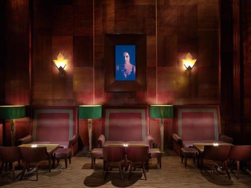 Redwood Room, Bars, Interior Design