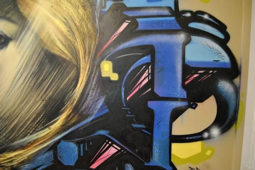 Murals by Christian Toth Art seen at Private Residence, Halifax - Jubilee