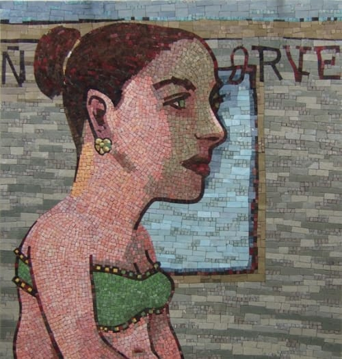 Public Mosaics by Juan Carlos Macias seen at Irving Park Station, Chicago, Chicago - Commonplaces