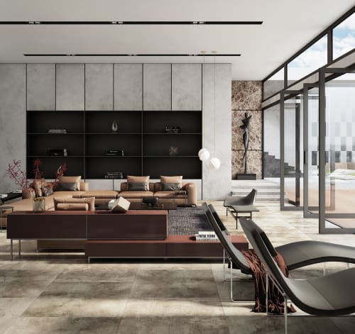 Interior Design by Georgios Tataridis seen at Private Residence - Rustic Interior Design