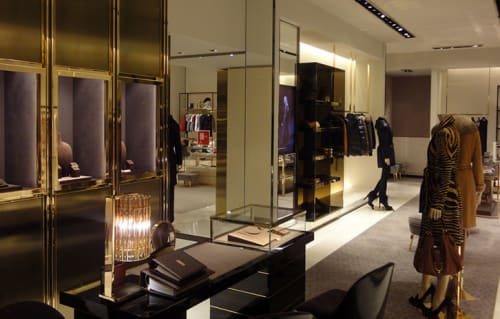 Interior Design by G4 Group at Gucci, Barcelona - Architectural Design