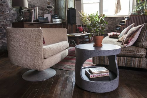 Tables by Oso Industries seen at Private Residence, Brooklyn - Open Roller