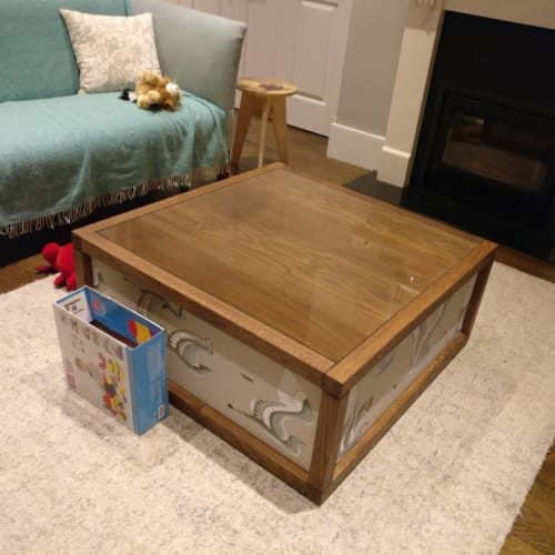 Tables by Bogdan Petru seen at Private Residence, London - Coffee Table