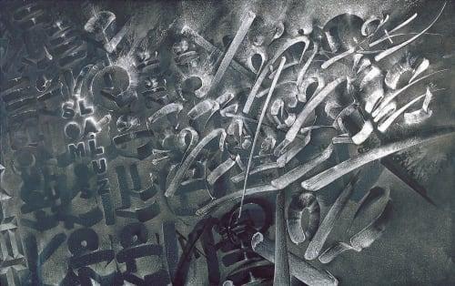 Chaz Bojorquez - Murals and Art
