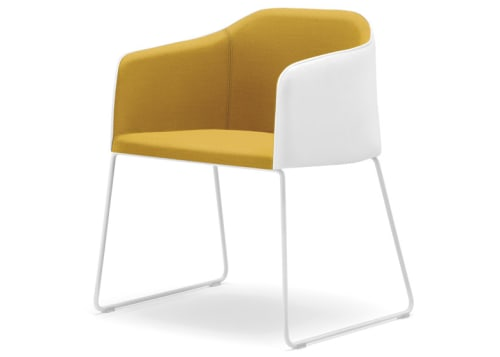 Chairs by Alessandro Busana seen at Nestlé Italy, Milano - Laja Armchair