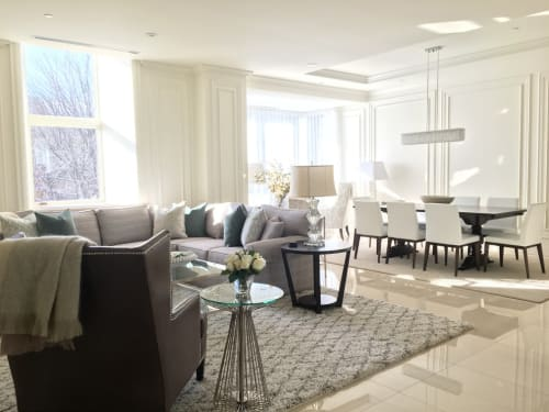 Interior Design by Rita Saliba seen at Downtown Condo, Montreal - Interior Design