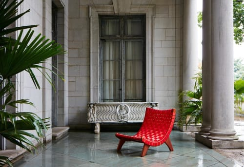 Chairs by Luteca Furniture at Private Residence, Mexico City - San Miguel Lounge Chair