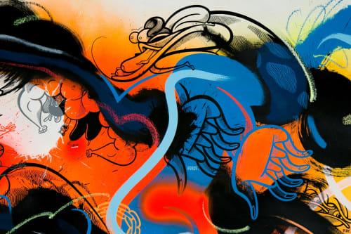 RIME MSK - Street Murals and Public Art