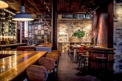 Nobody Is Perfect, Restaurants, Interior Design