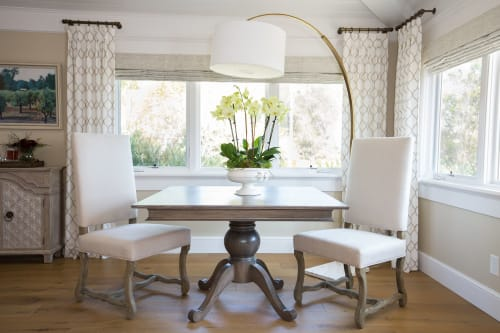 Tables by Keefrider Custom Furniture seen at Private Residence, Santa Barbara - Red oak game table