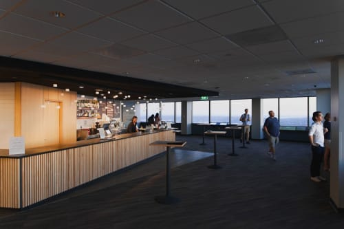 Pendants by Graypants seen at Sky View Observatory - Columbia Center, Seattle - Loci Fixture