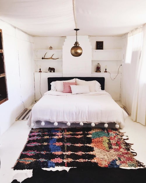 Rugs by Aelfie at The Joshua Tree House, Joshua Tree - Moroccan Rug