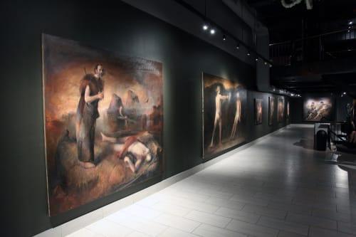 Booth Gallery, Art Galleries, Interior Design