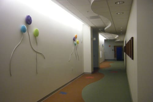 Art & Wall Decor by Jamie Harris Studio seen at Banner Cardon Children's Medical Center, Mesa - Mod Installation, 2009