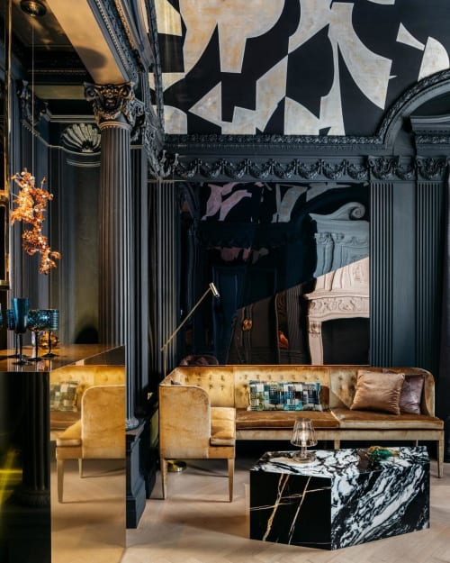 Interior Design by Martin Kobus Home seen at SF Decorator Showcase 2019, San Francisco - Interior Design