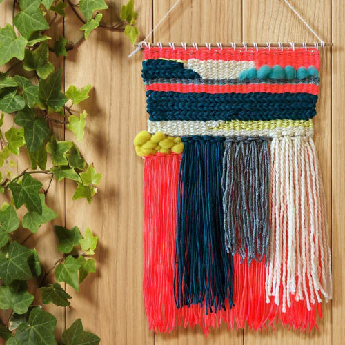Macrame Wall Hanging by Gabrielle Mitchell Studio seen at Private Residence, Brooklyn - Woven Wall Hanging