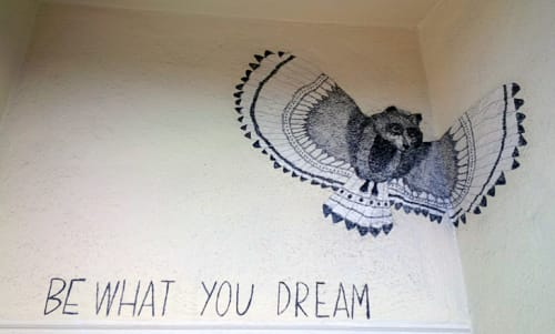 Street Murals by Diana García seen at 20th Street, San Francisco - Be What You Dream
