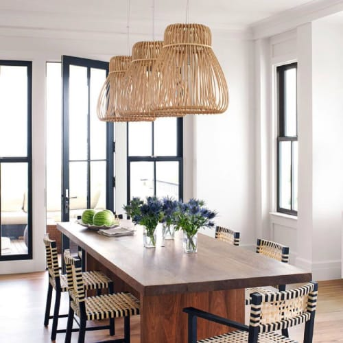 Pendants by ROOM seen at Private Residence, New York - Orbita Pendants