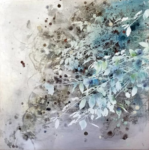By The Falls | Paintings by Cara Enteles Studio
