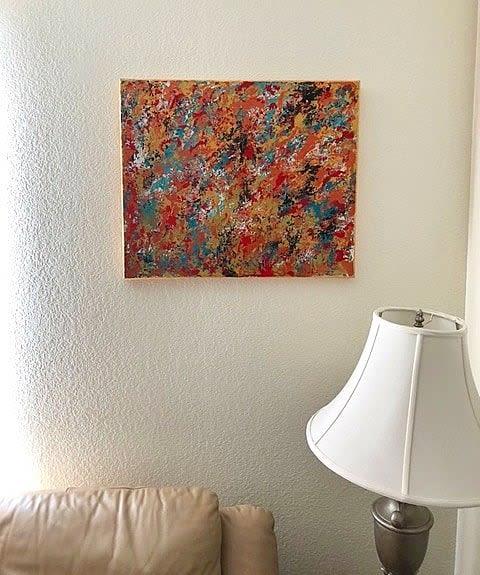 Paintings by Soulscape Art seen at Private Residence, Hemet - Breaking Dawn