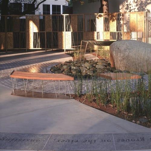 Public Sculptures by Cliff Garten seen at Sacramento Area, Sacramento - California Song