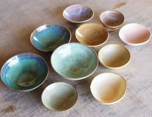 Ceramic Glazes | Tableware by Ceramics by Charlotte