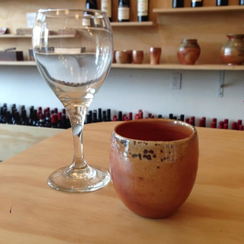 Tableware by Dan Kunnecke seen at Mom and Pop Wine Shop, Portland - Vessel