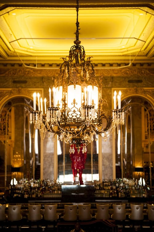 Chandeliers by Lighting Designs Inc. seen at Sir Francis Drake, San Francisco - Royal Chandeliers