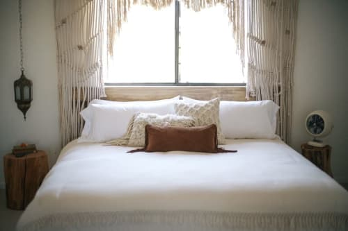 Pillows by Amber Seagraves at The Joshua Tree Casita, Joshua Tree - Elka Fringe Pillow