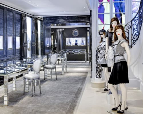 Interior Design by Peter Marino Architect seen at Dior, 57th St, New York - Interior Design