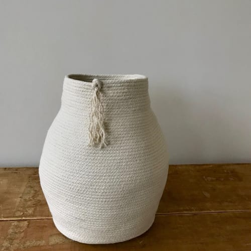 Vases & Vessels by Hey Blue Handmade seen at Private Residence, Salem - Statement Vessel