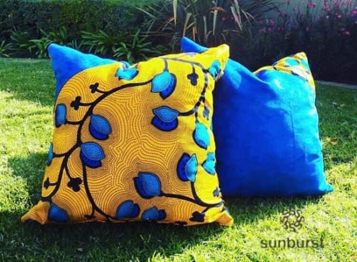 Pillows by SunBurst seen at Epicure Restaurant, Sandton - Pillow