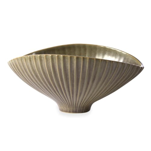 Sculptures by Jonathan Adler seen at Parker Palm Springs, Palm Springs - Anemone Relief Bowl