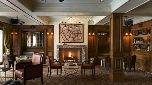 Lighting by Apparatus Studio seen at The Marlton Hotel, New York - Triad & Dyad Light Fixture