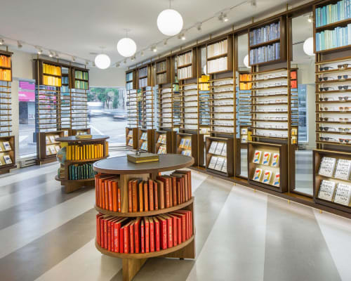 Warby Parker Madison, Stores, Interior Design