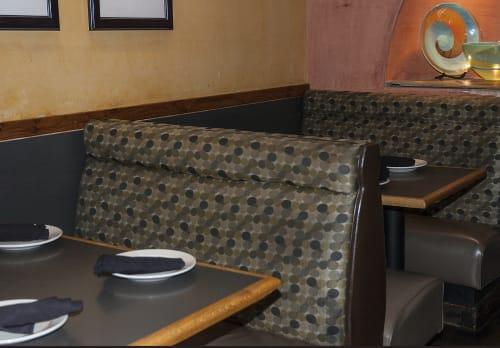 Curtains & Drapes by Jhane Barnes seen at Blue Mesa Grill, Dallas - Pop